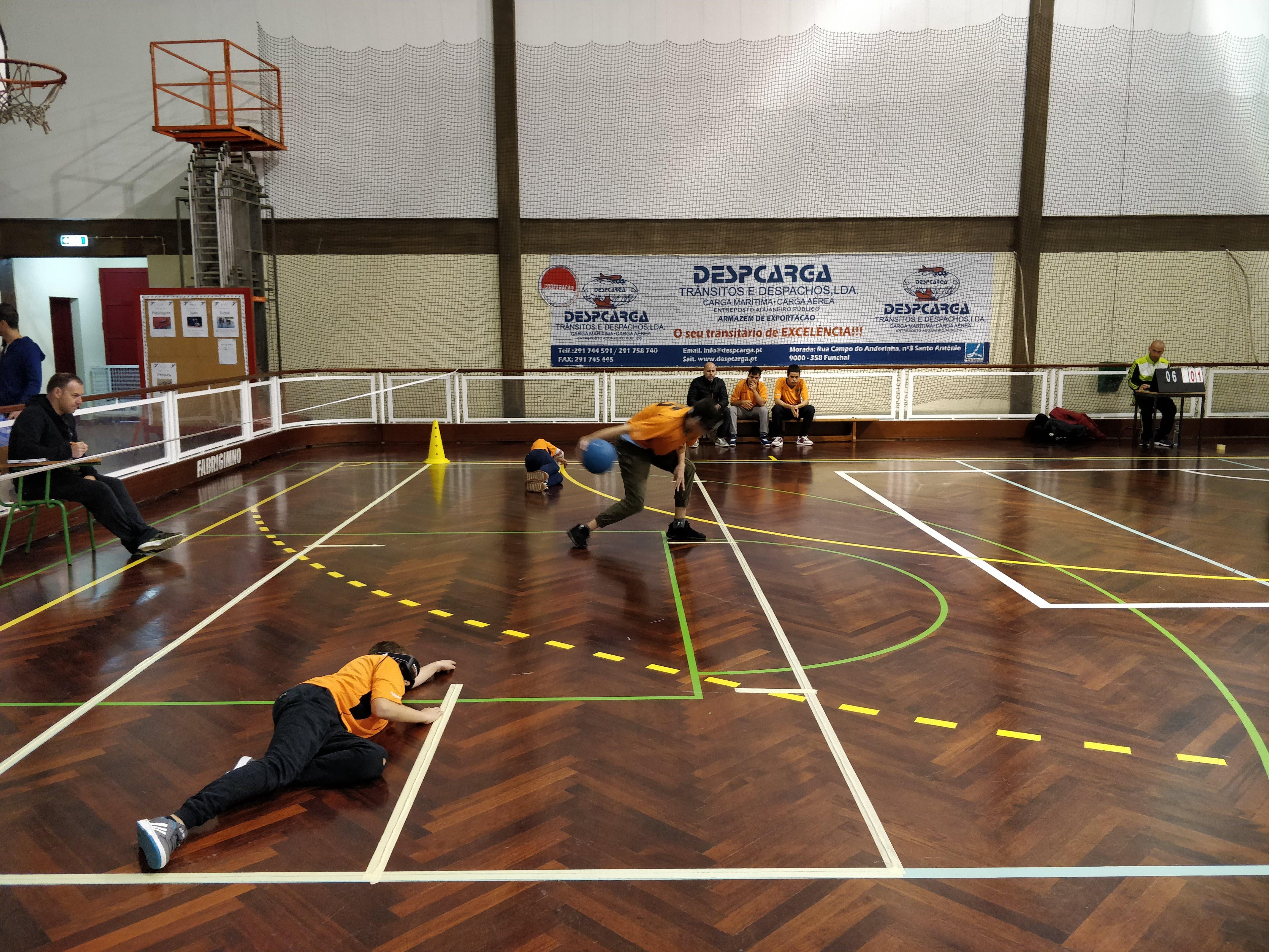 Goalball apura os melhores da região