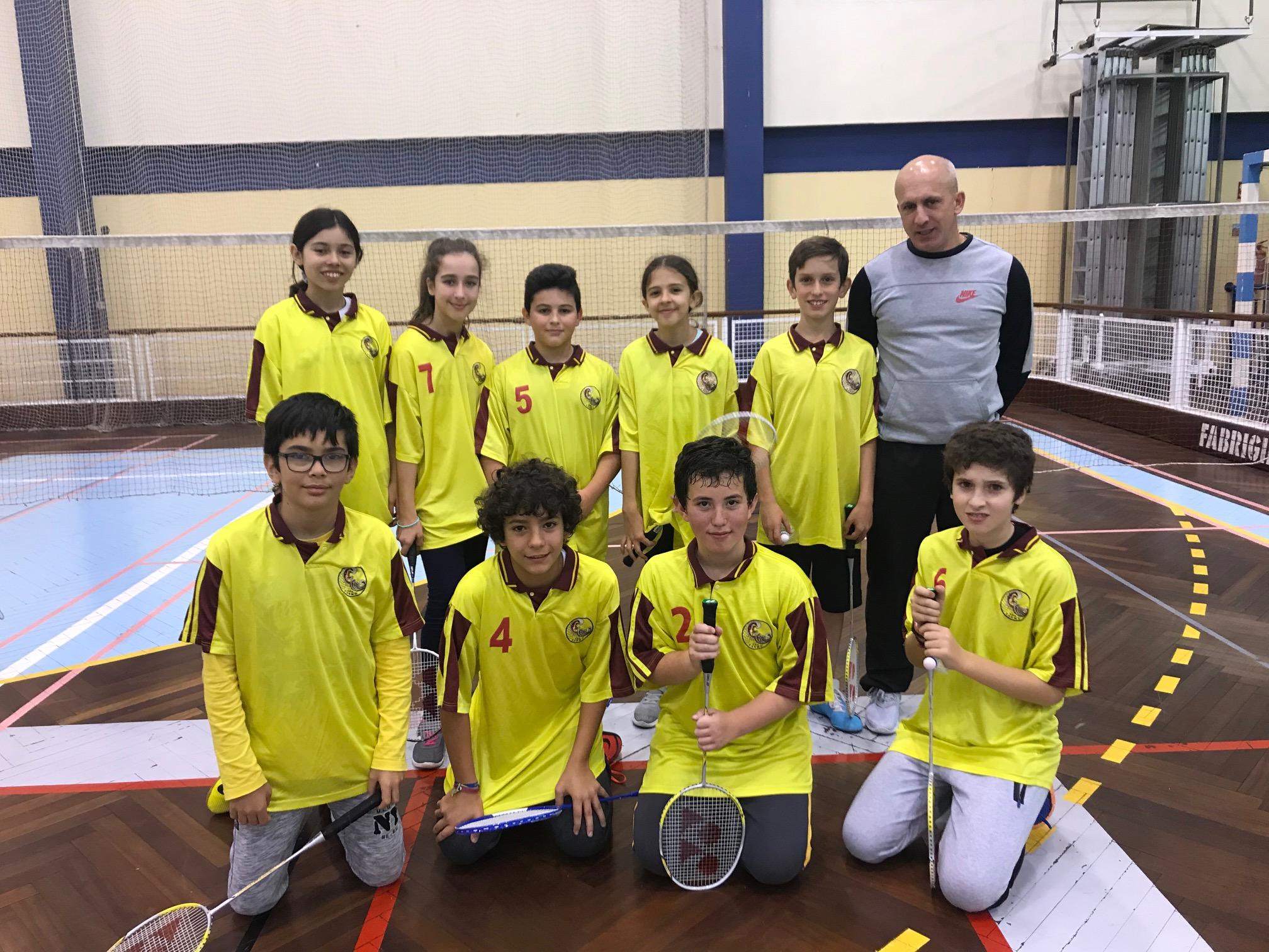 Formação/estágio e Concentração de pares de Badminton   zona Funchal/Este/Oeste Infantis /Juniores seniores