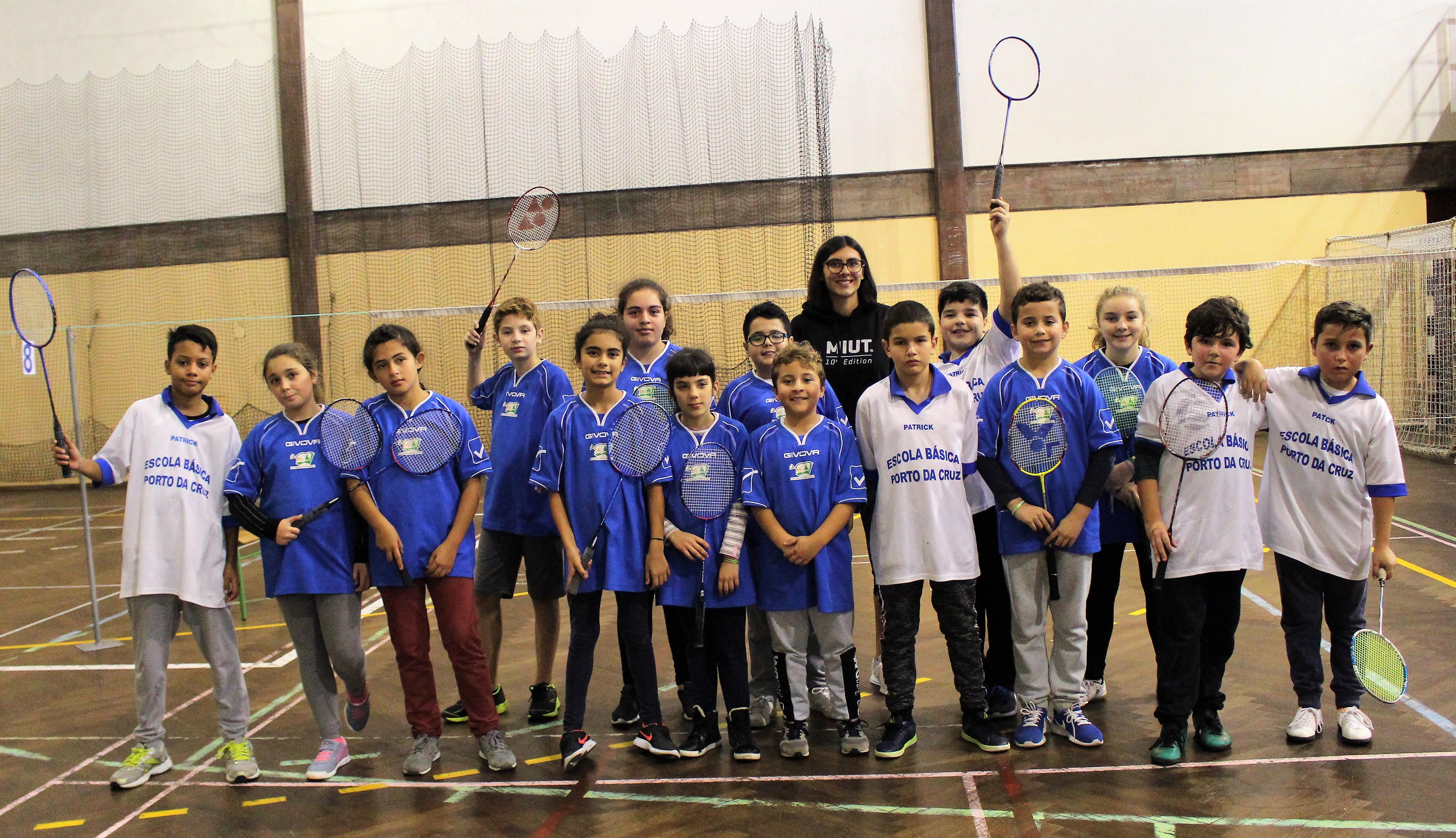 2ª Concentração de badminton | zona Este /Oeste /Funchal | Infantis/Juniores