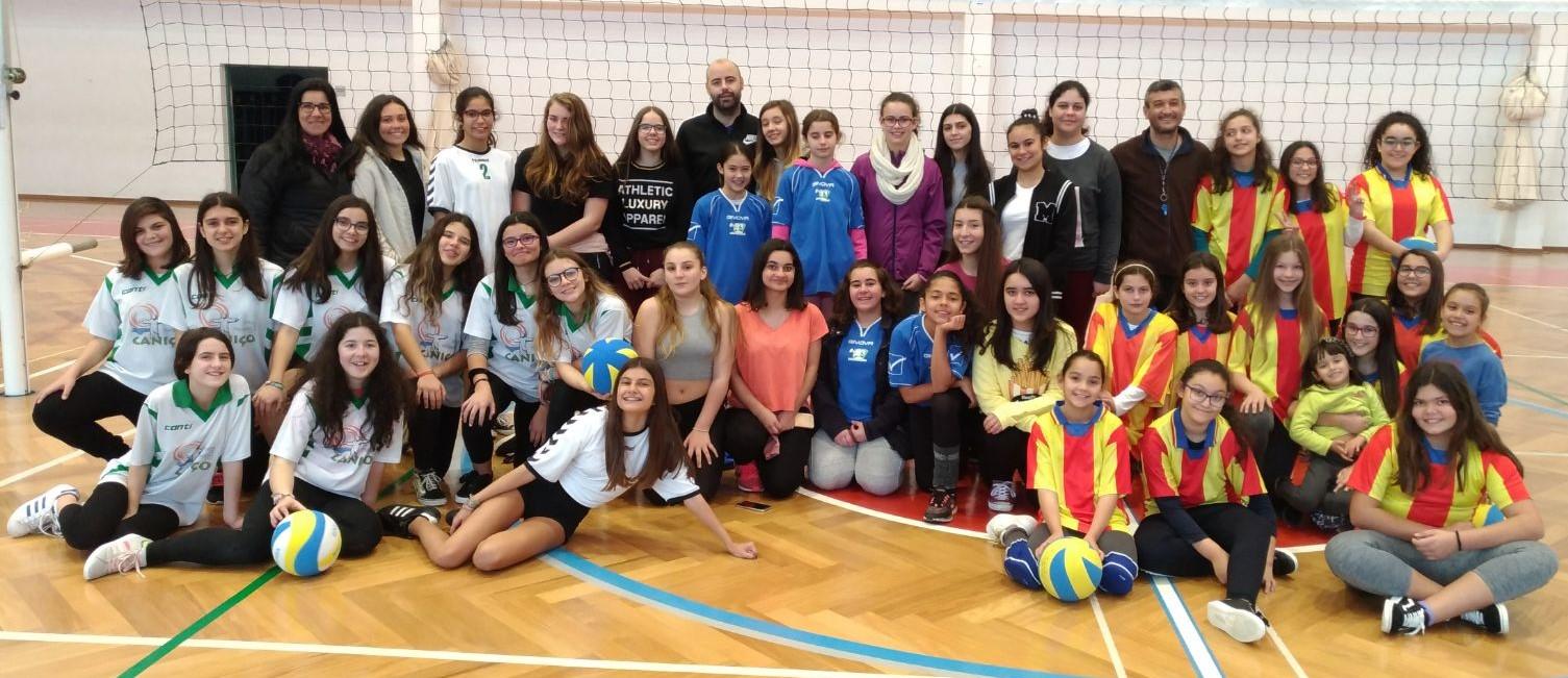 Competição de Voleibol - 3-2-2018