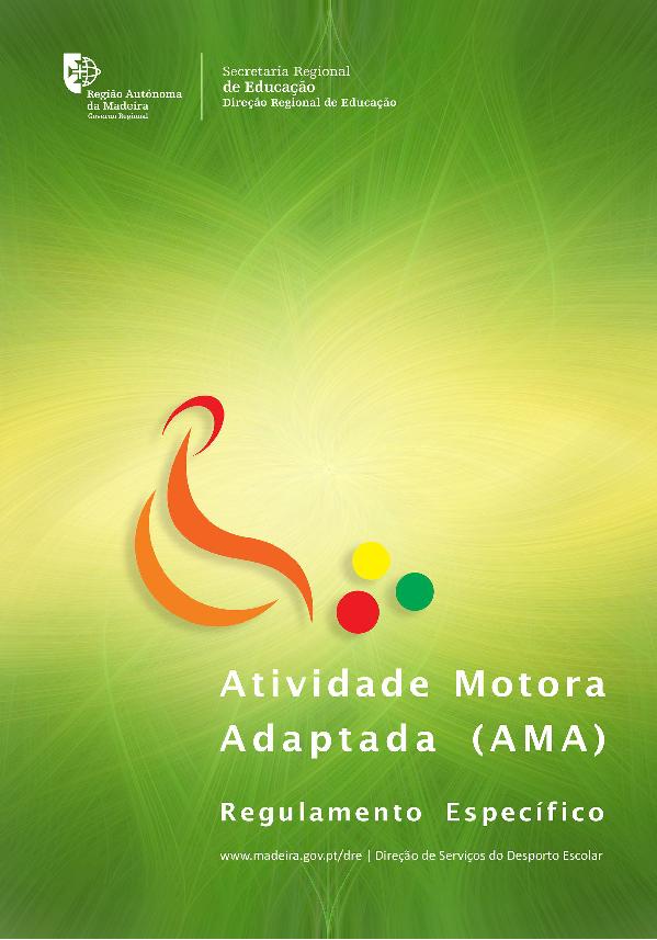 Regulamento Específico de Atividade Motora Adaptada