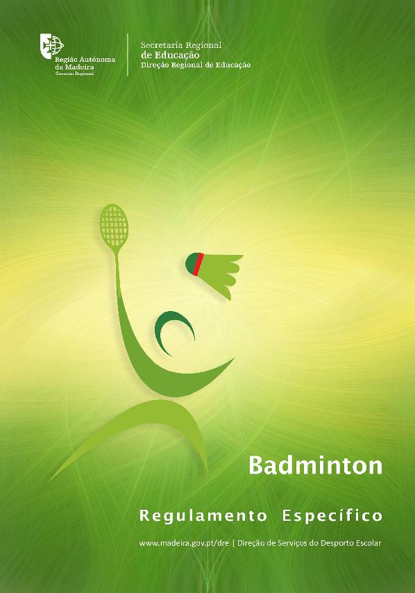 Regulamento Específico de Badminton