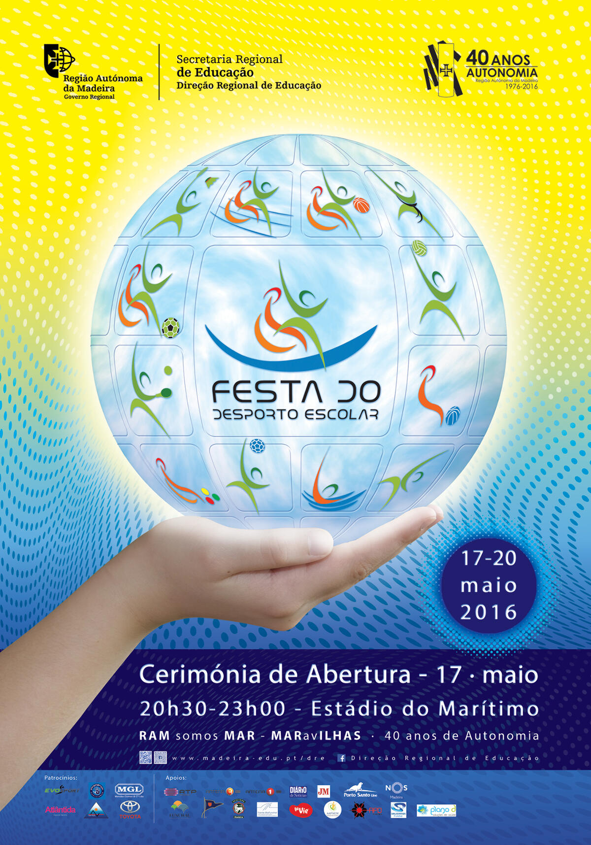 Cerimónia de Abertura do Desporto Escolar 2016