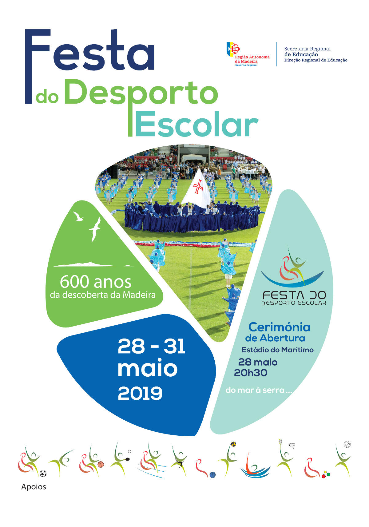 Cerimónia de Abertura do Desporto Escolar 2019