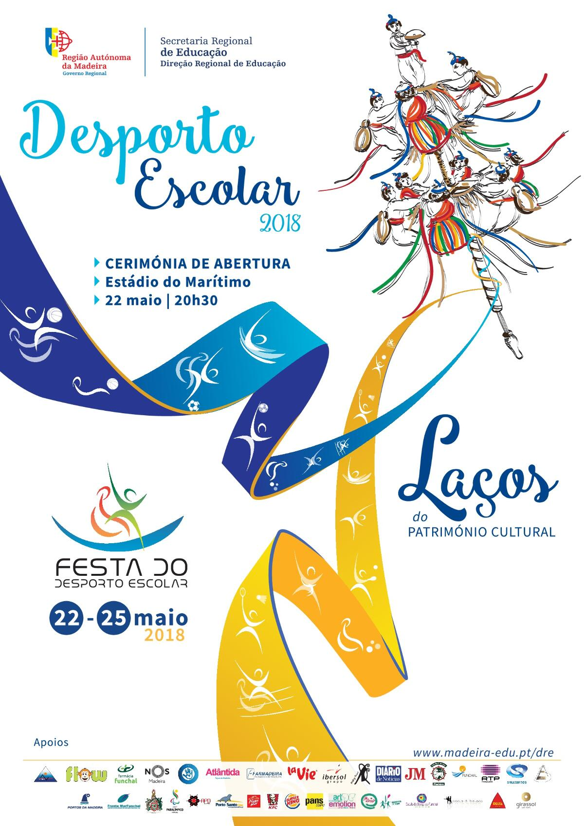 Cerimónia de Abertura do Desporto Escolar 2018