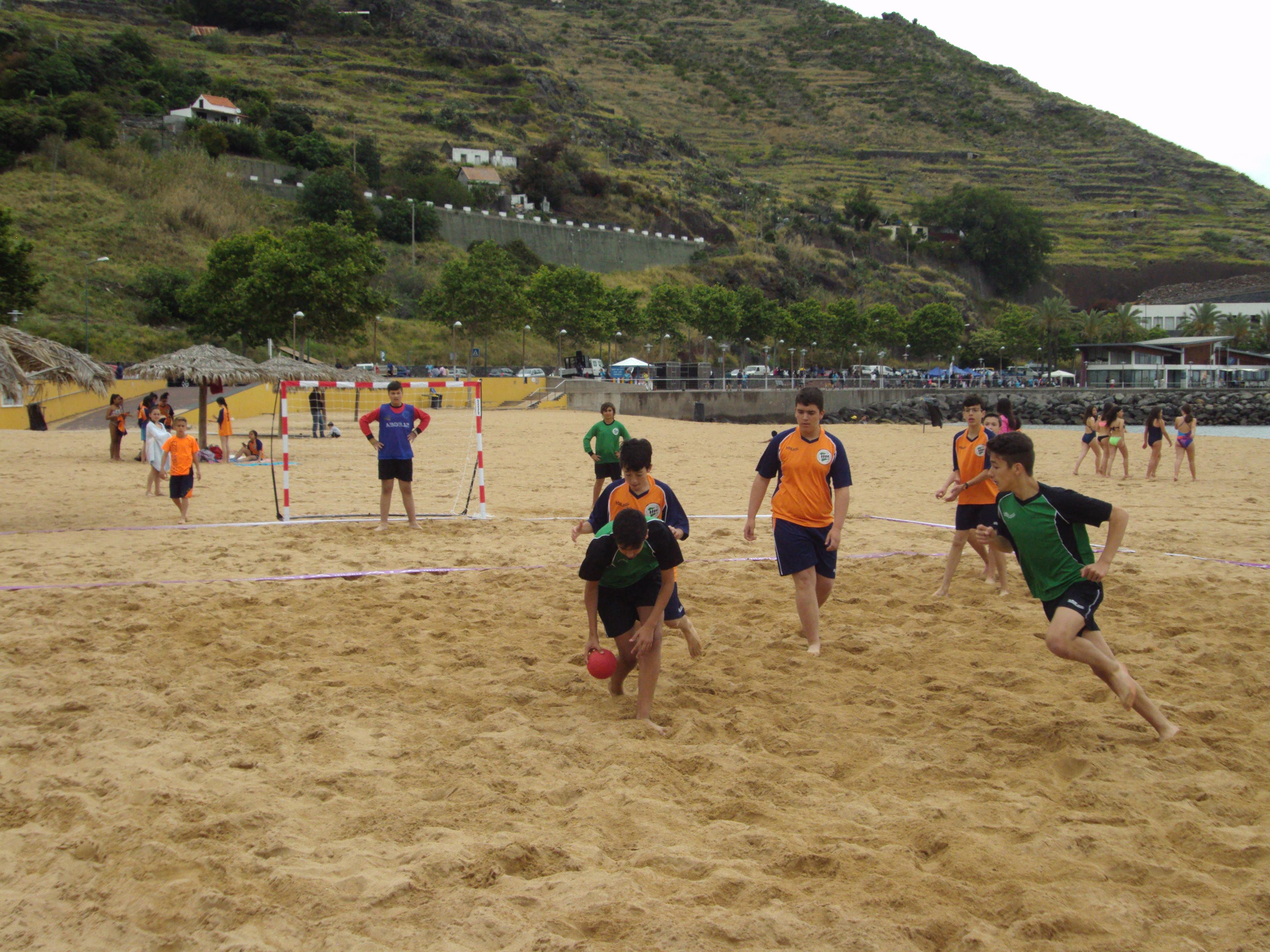 Andebol de Praia estreia no Desporto Escolar