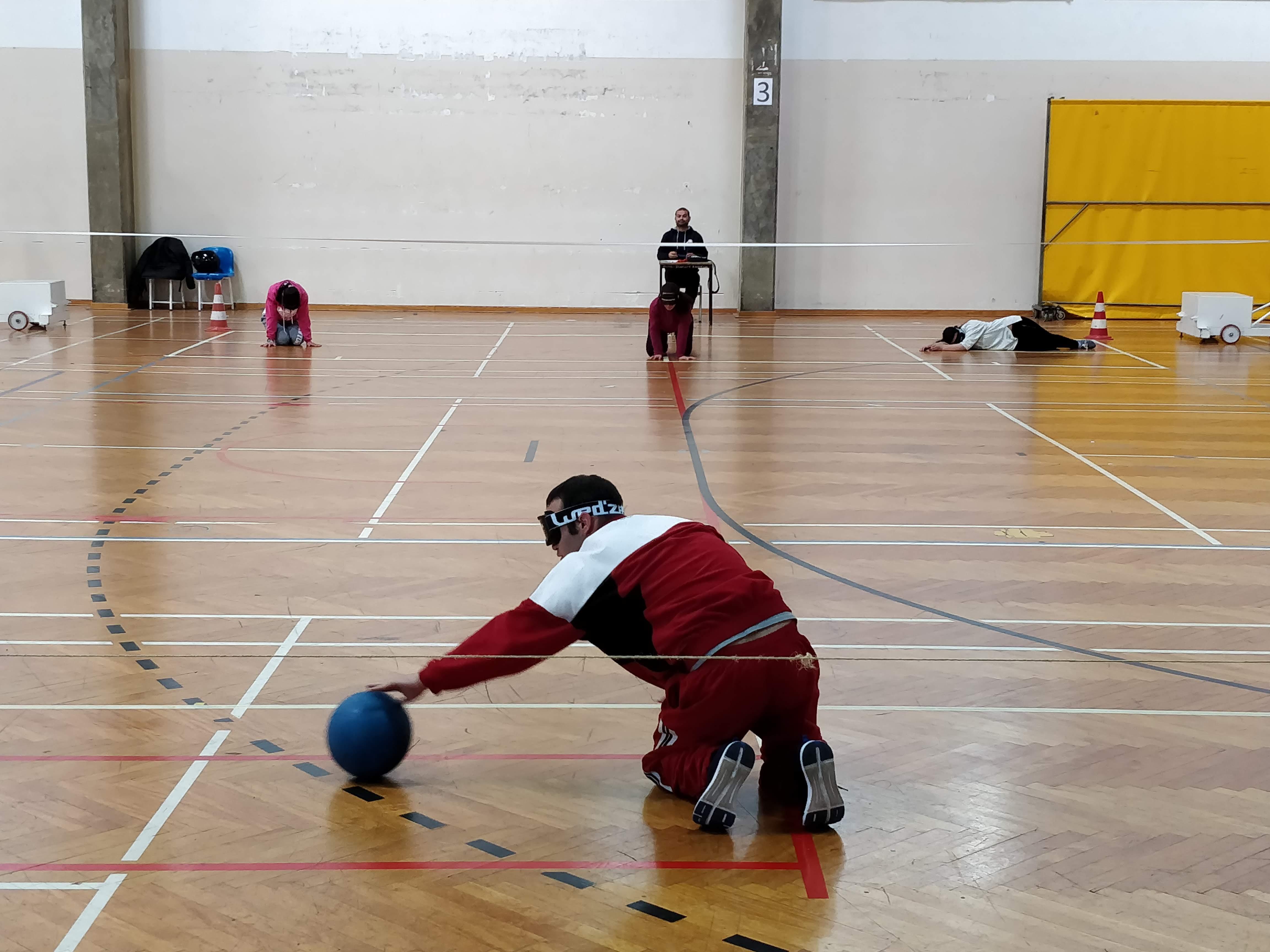 Apuramento de Goalball