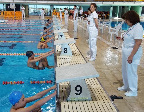 Natação com Torneio Final Desporto Escolar