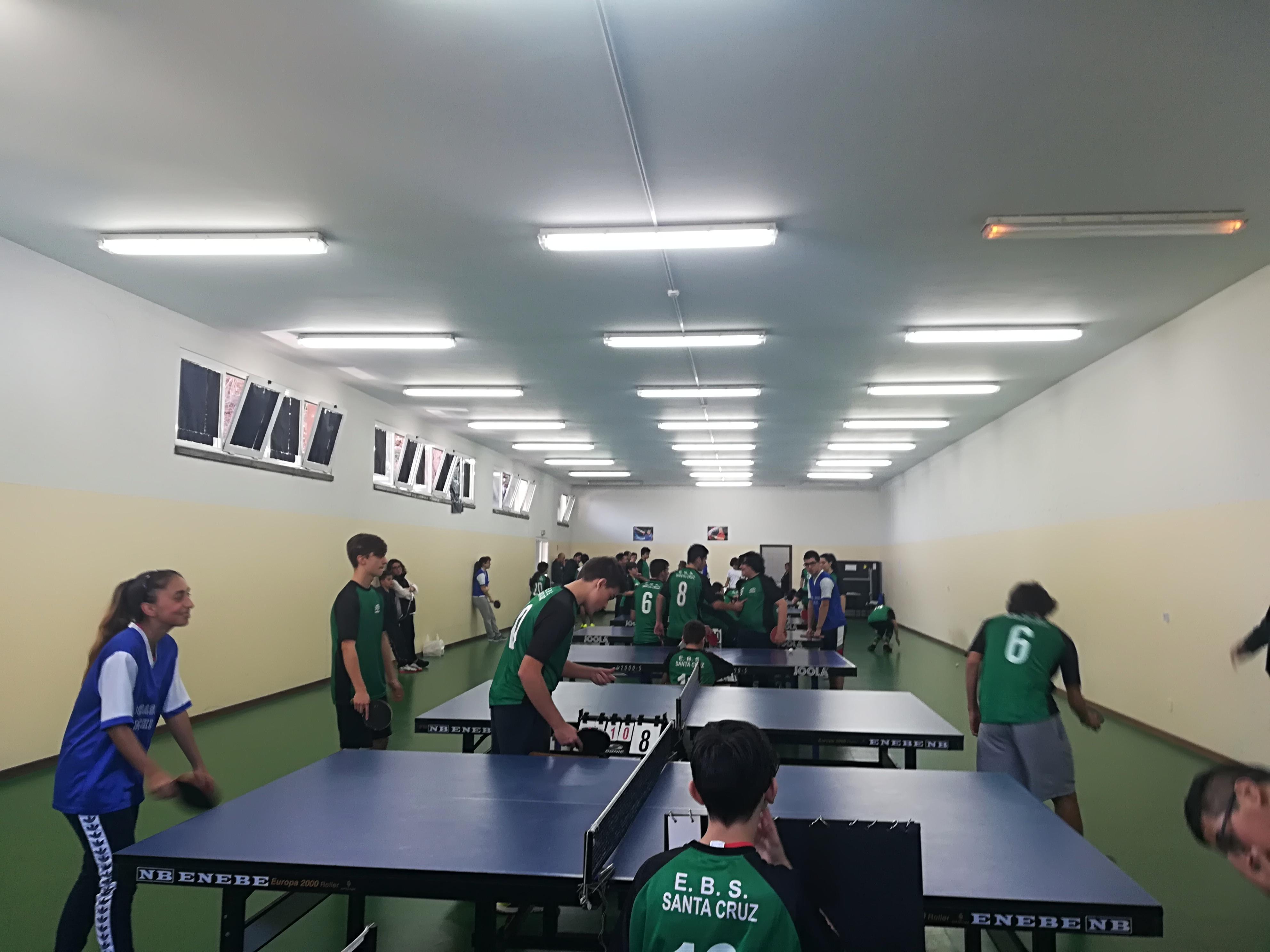 3ª concentração de ténis de mesa