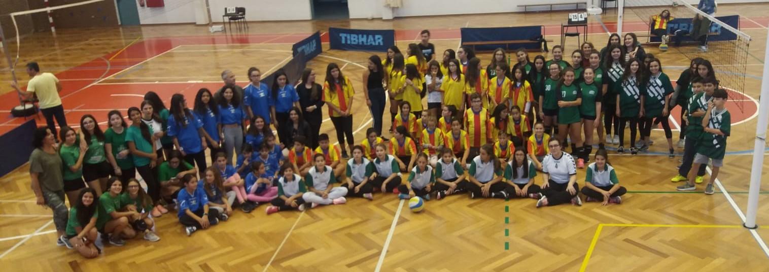 1ª concentração  de Voleibol para infantis femininos e masculinos