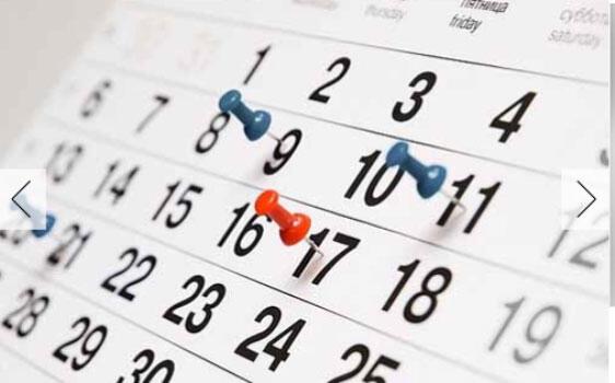 Calendário de Atividades 2,3 e sec DSDE 2019/20