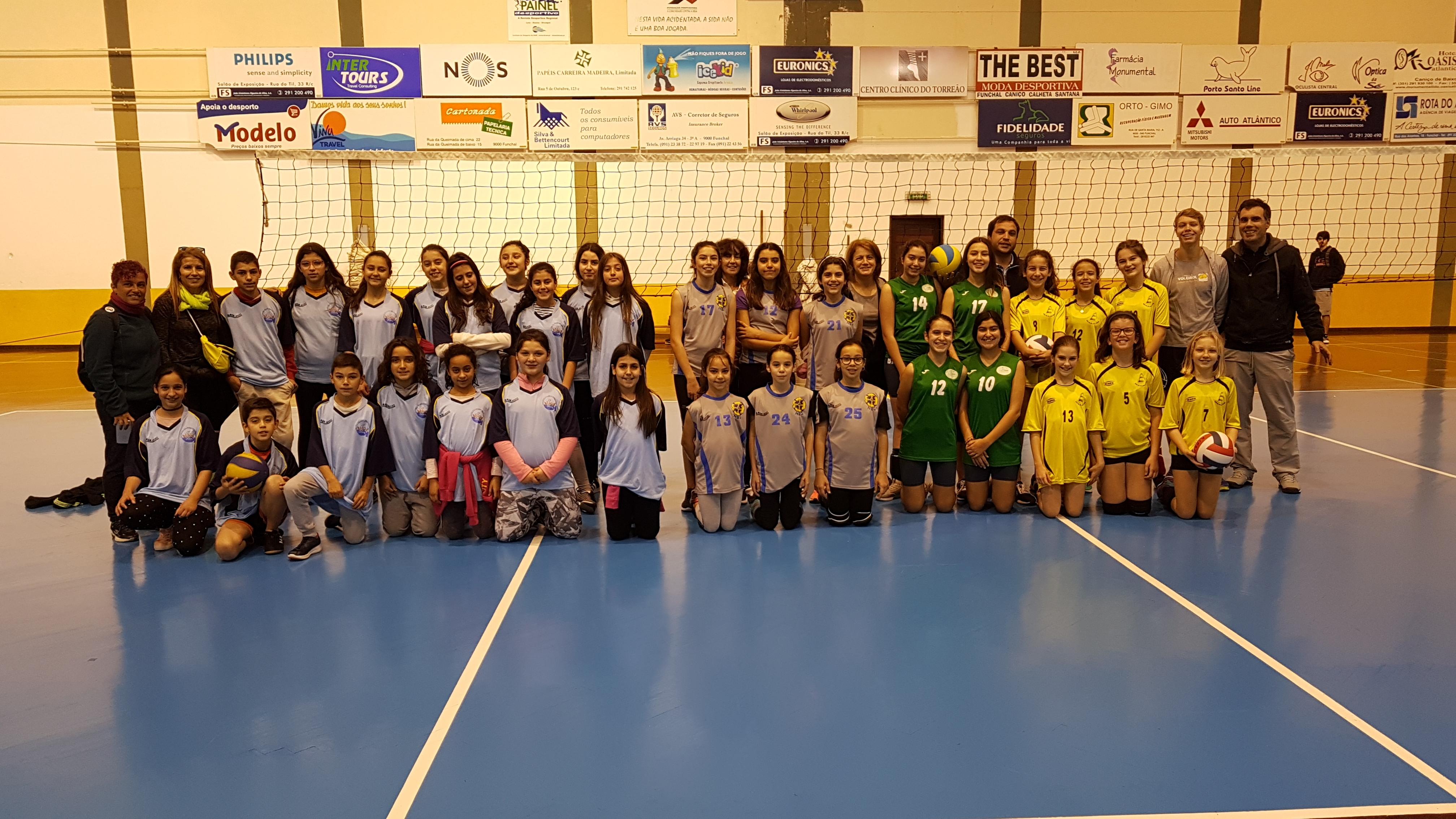 Campeonatos de voleibol