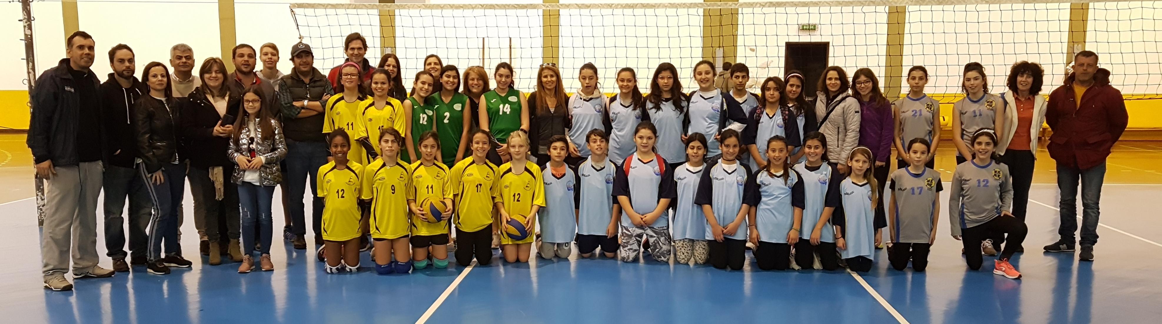 Concentrações de Voleibol Feminino