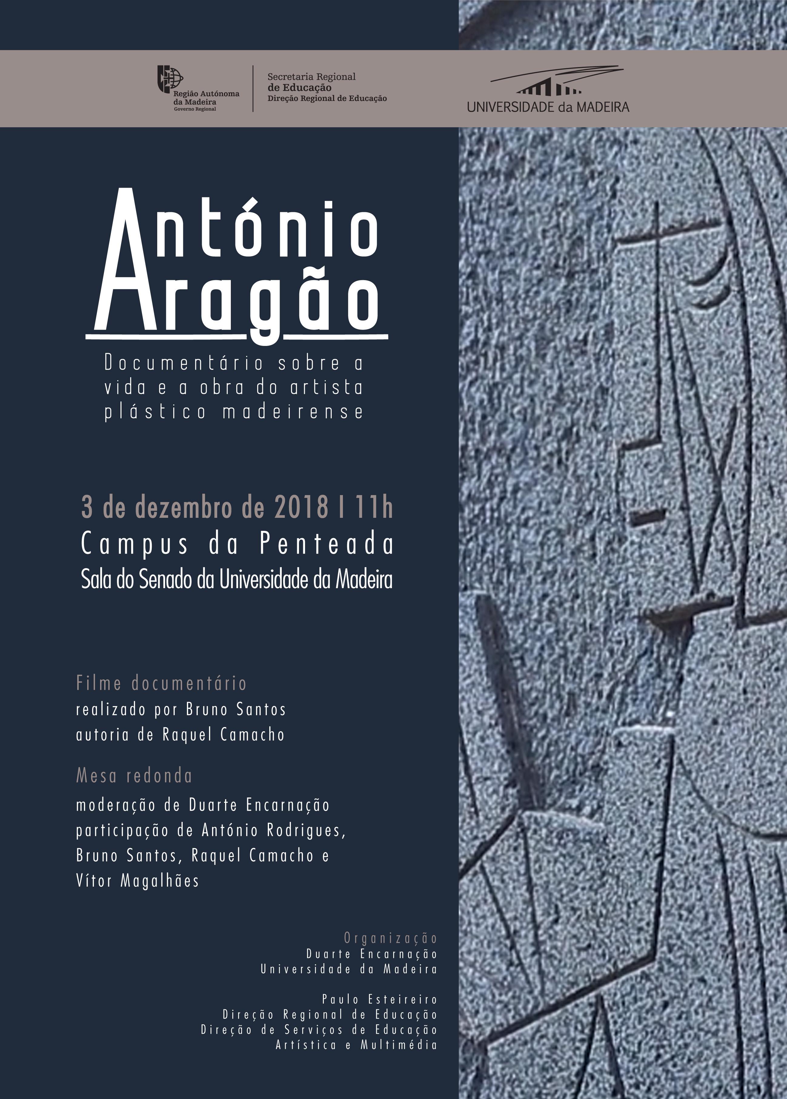 Documentário sobre António Aragão
