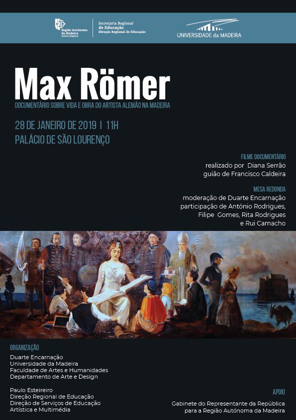 Documentário sobre a vida e obra de Max Römer