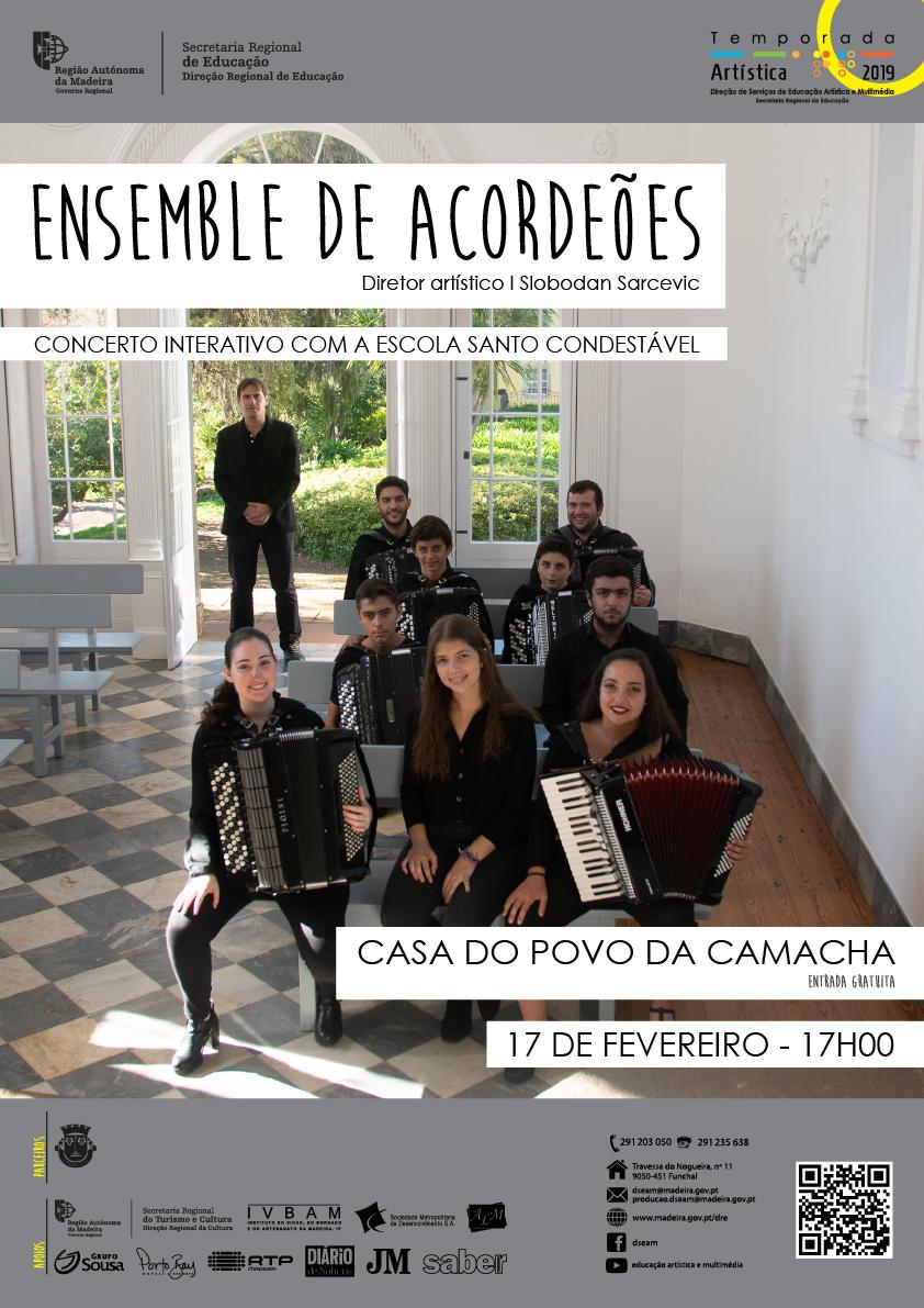 TA 2019: Concerto interativo na Camacha