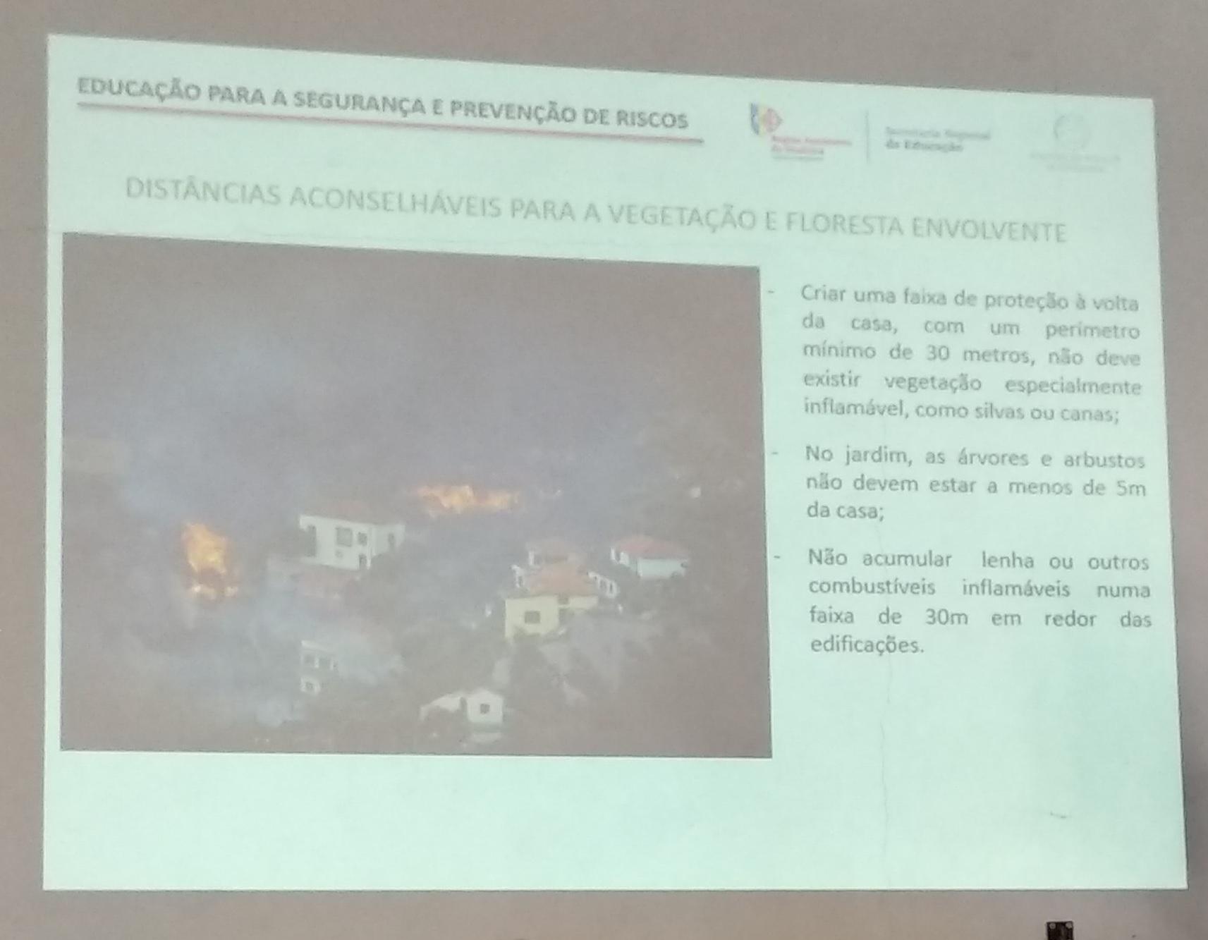 """STFP na ação de sensibilização """"Riscos Naturais na Ilha da Madeira"""""""