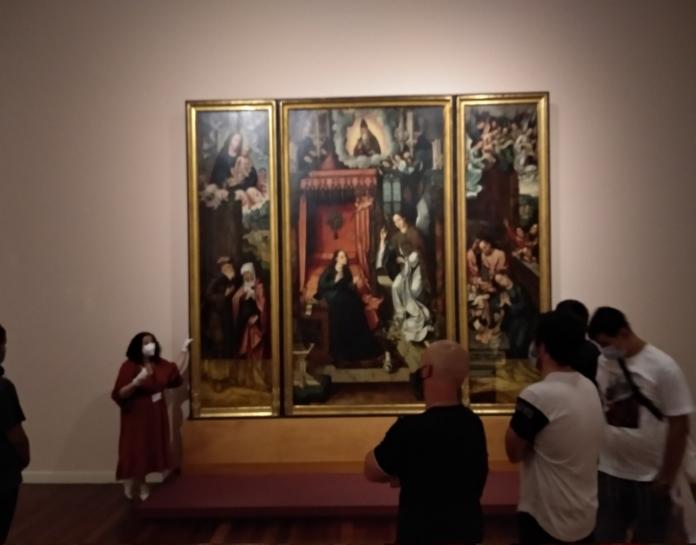 Visita do STFP ao Museu de Arte Sacra do Funchal