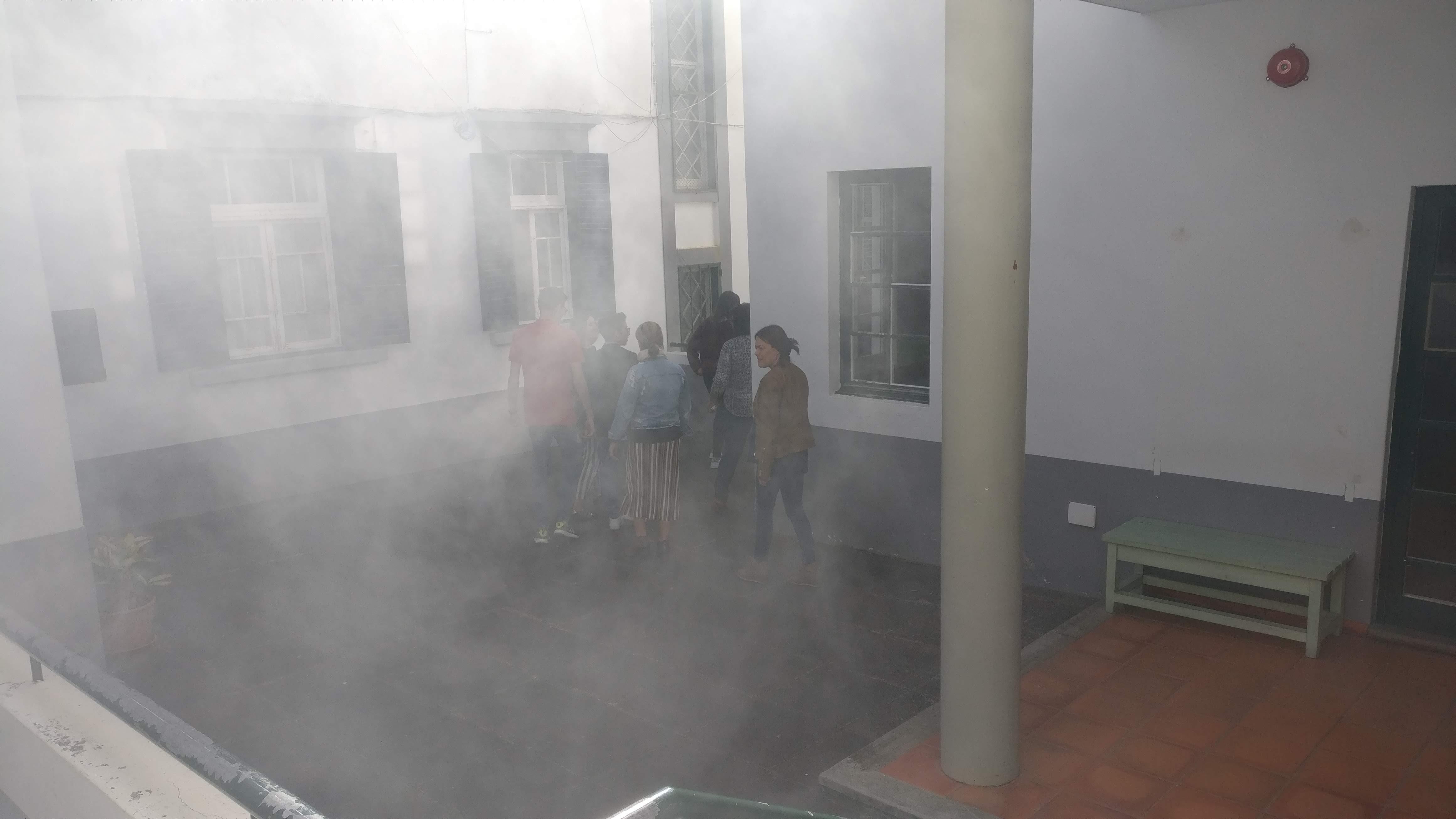 Exercício de Evacuação no STFP