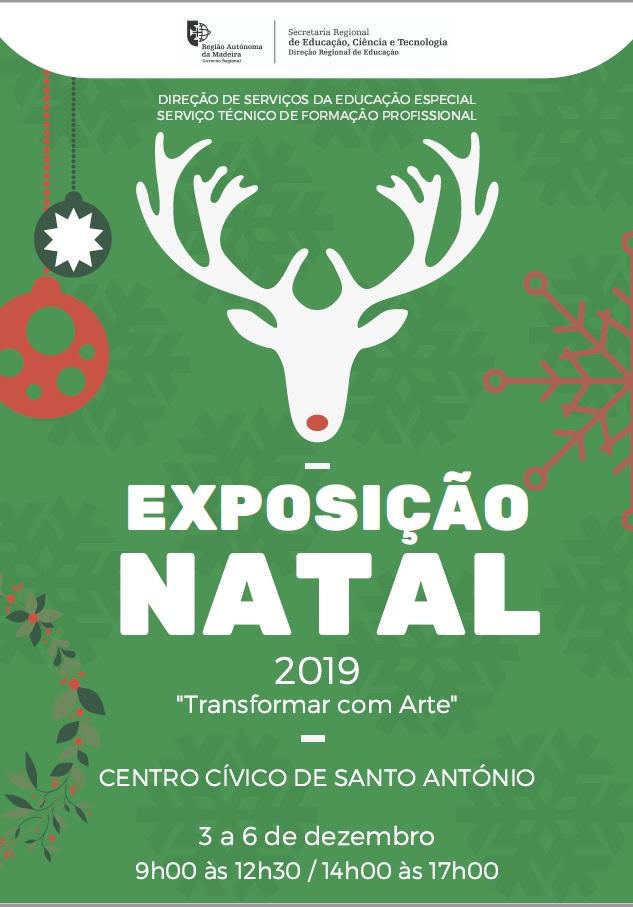 EXPOSIÇÃO NATAL - STFP 2019 de 3 a 6 de dezembro