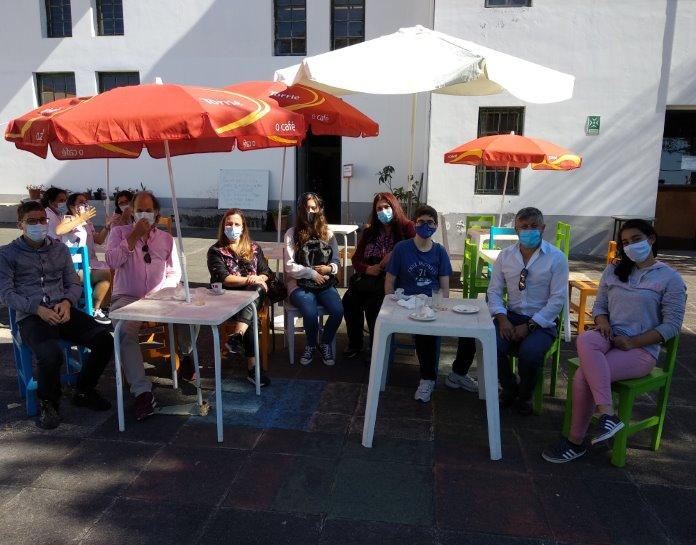 Visita de grupo de alunos da EB23 do Caniço ao STFP