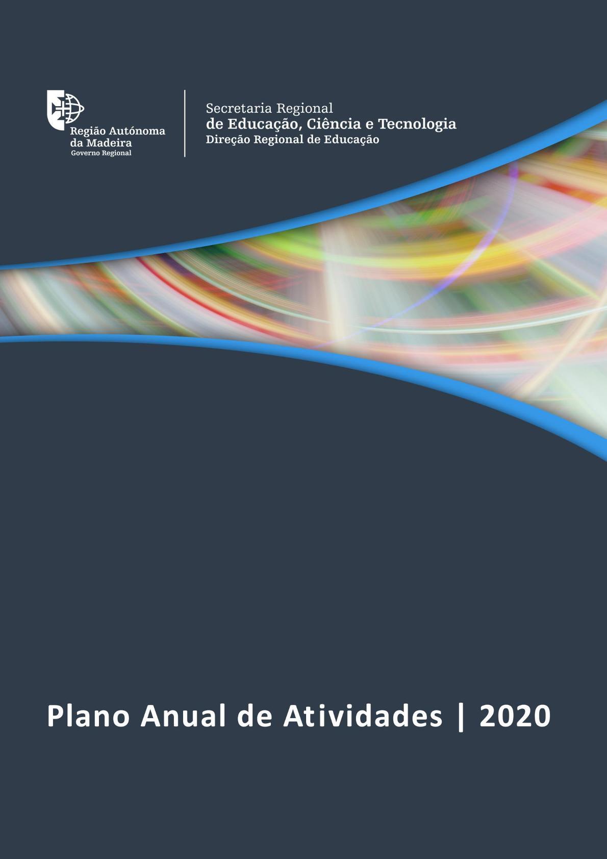 Plano Anual de Atividades DRE 2020