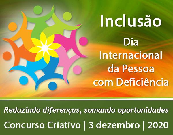 Concurso Criativo - Dia Internacional da Pessoa com Deficiência