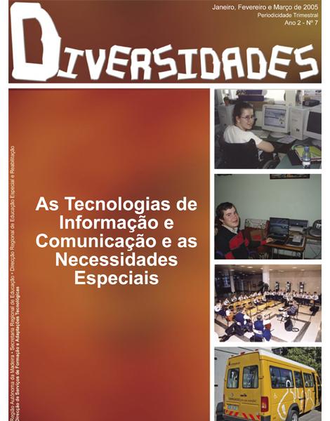 N.º 7 - As Tecnologias de Informação e de Comunicação e as Necessidades Especiais