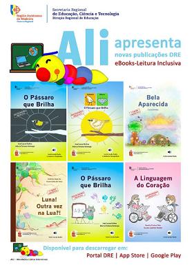 Novos títulos da coleção «eBooks - Leitura Inclusiva» disponíveis para descarregar gratuitamente em múltiplas plataformas