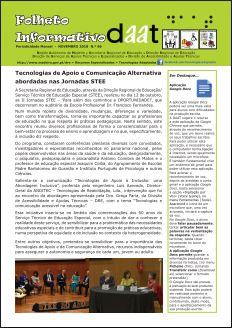 Tecnologias de Apoio e Comunicação Alternativa abordadas nas Jornadas STEE