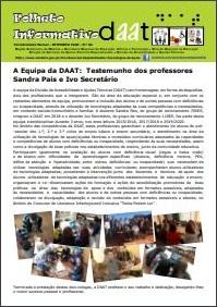 A Equipa da DAAT: Testemunho dos professores Sandra Pais e Ivo Secretário