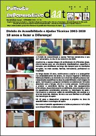 Divisão de Acessibilidade e Ajudas Técnicas: 2002-2020 - 18 anos a fazer a Diferença!