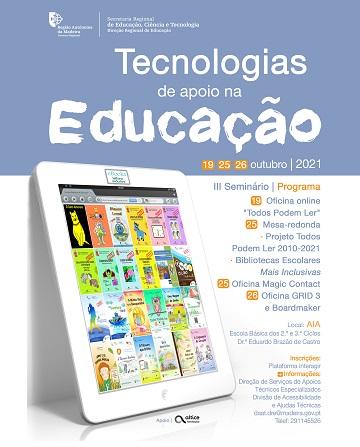 III Seminário Tecnologias de Apoio na Educação