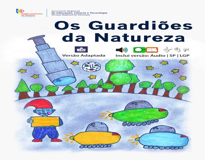 """ebook """"Os Guardiões da Natureza - Versão Adaptada"""""""