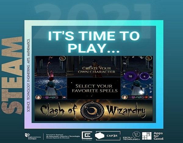 Torneio Clash of Wizardry - Feira Tecnológica