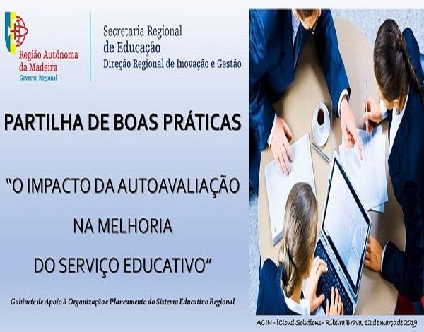2ª Sessão de Partilha de Boas Práticas em Autoavaliação no 1º Ciclo/Pré-Escolar/Creche