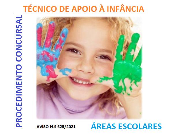 Procedimento concursal para a carreira /categoria de Técnico de Apoio à Infância - Aviso n.º 615/2021