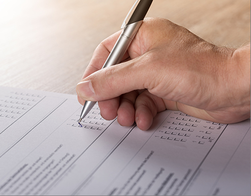 Fichas de registo de avaliação docente