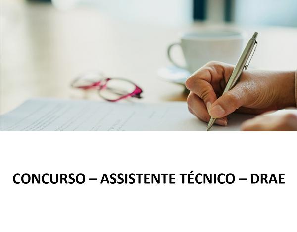 Concurso – Assistente Técnico – DRAE