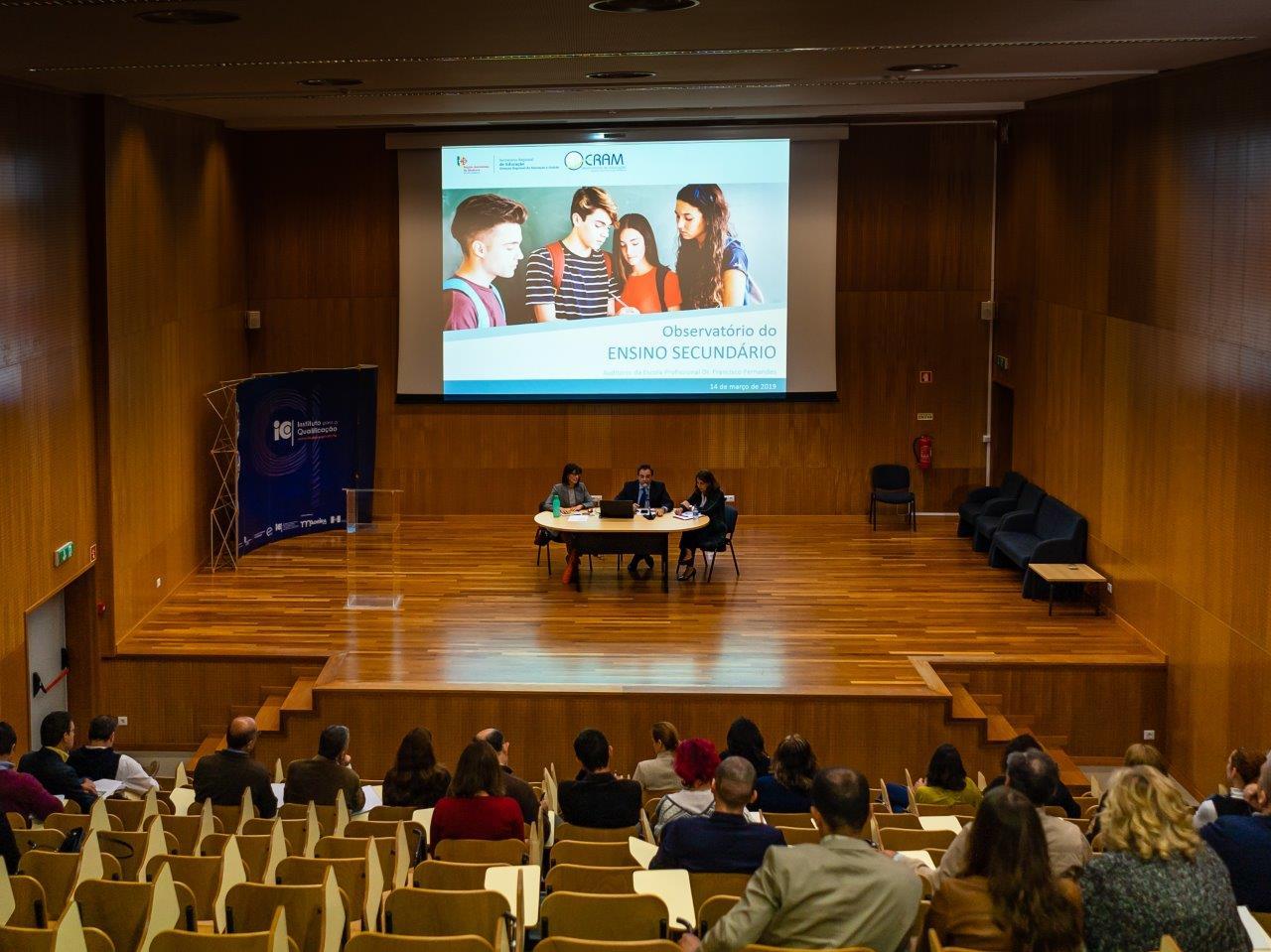 Sessões de informação - Observatório de Trajetos dos Estudantes do Ensino Secundário