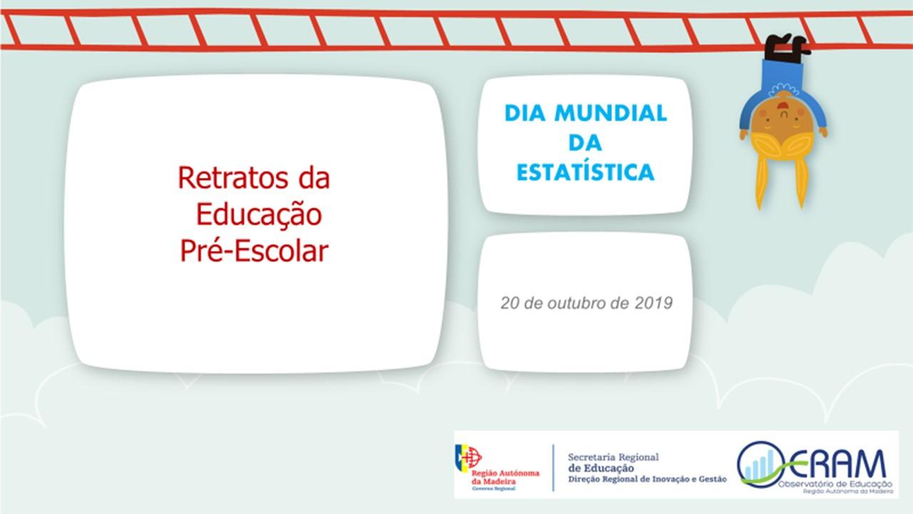 Dia Mundial da Estatística - 20 de outubro