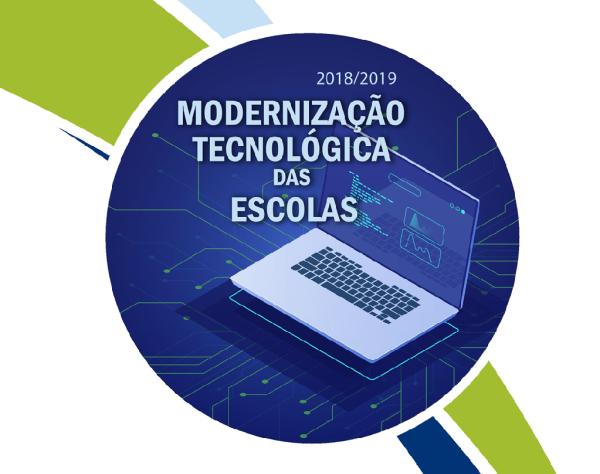 Publicação Modernização Tecnológica das Escolas
