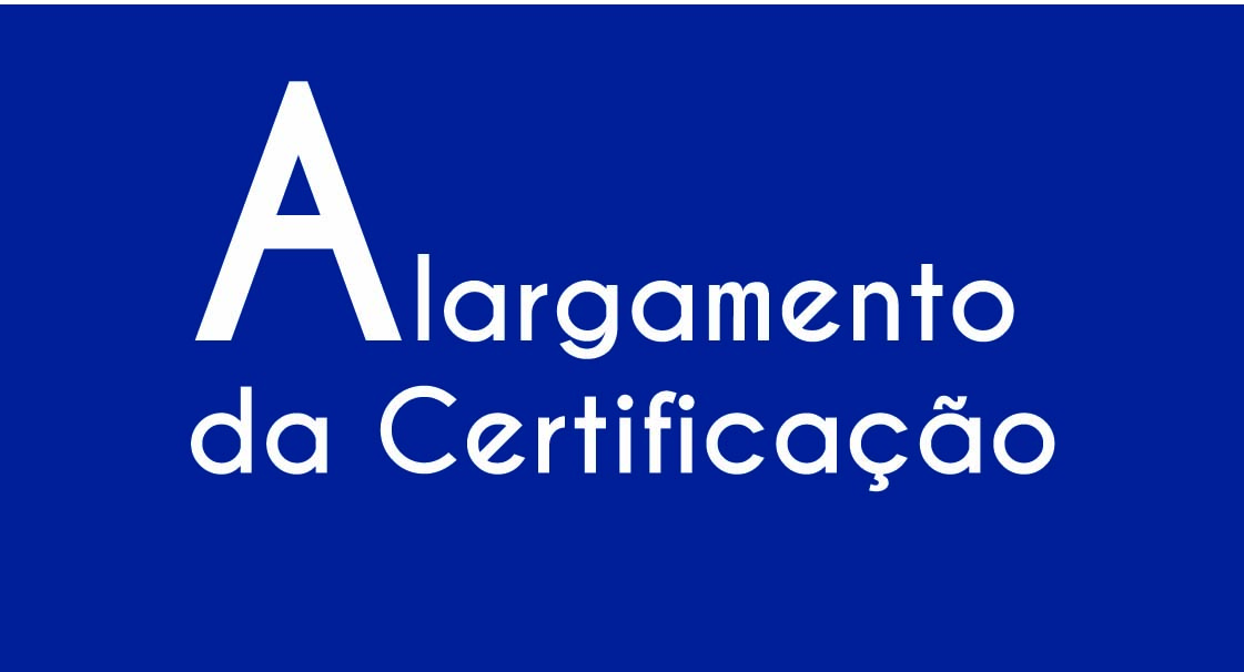 Alargamento do Perfil de Certificação
