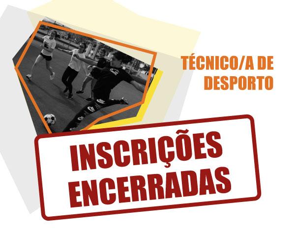 Técnico/a de Desporto