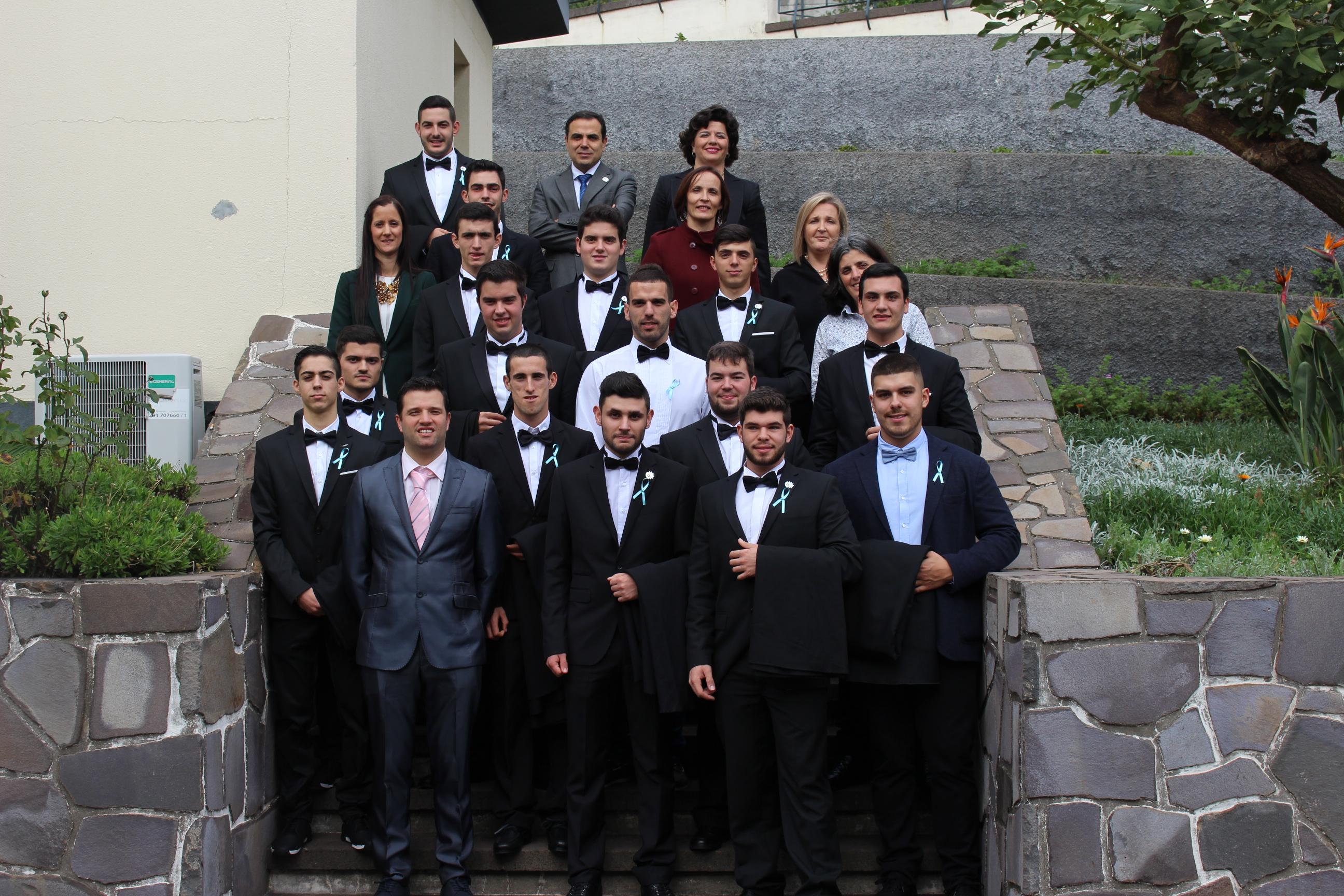 Bênção das Capas dos finalistas do Instituto para a Qualificação, IP-RAM - Centro de Formação Profissional da Madeira