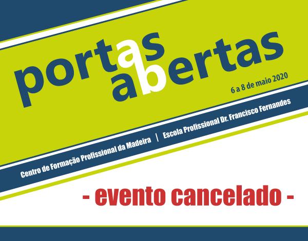 Portas Abertas - Evento cancelado