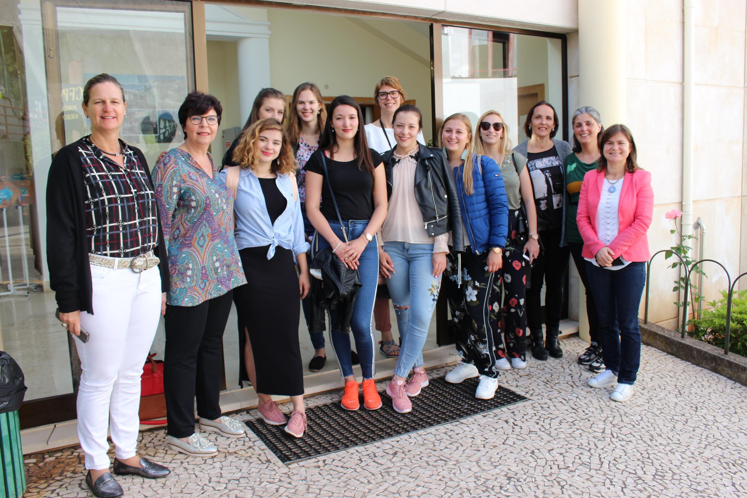 Instituto para a Qualificação, IP-RAM recebe formandas belgas no âmbito do Programa ERASMUS+
