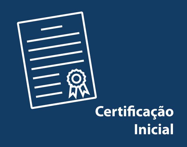 Certificação Inicial