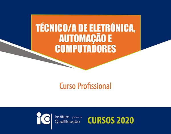 Técnico/a de Eletrónica, Automação e Computadores