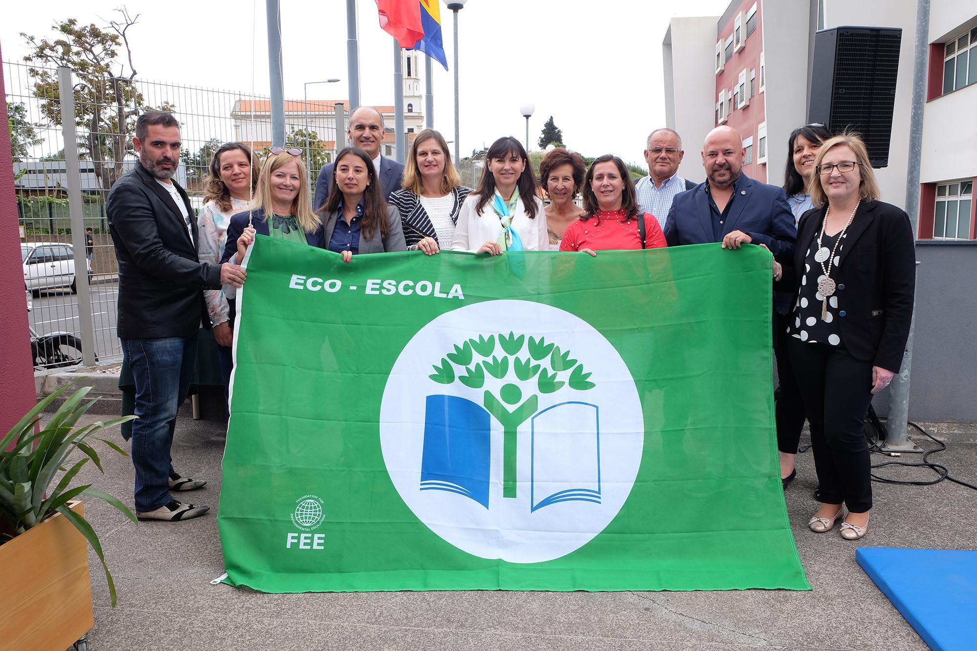 Cerimónia do Hastear da Bandeira Verde Eco-Escolas